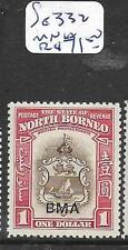 NORTH BORNEO (PP1501B) $1.00 BMA SG 332  MNH