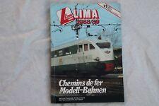 Catalogue LIMA 1988/89 pour HO et N édition française SNCF DB NS SBB-CFF NSB SJ