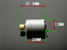 DC1.5-6V 1220 Micro DC Vibrator Motor Copper Massager Head Super Shock K130