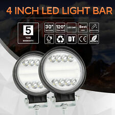 4 inch 200W LED Work Light Bar Flood Spot Beam Offroad 4WD SUV Driving Fog Light