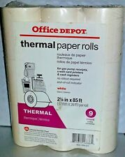 Mi15 Thermal Paper Rolls 2 1/4 in x 85 ft. - 9 Count per package - White