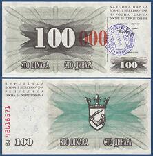 Bosnia/Bosnia 100.000 Dinara 23.10.1993 UNC p.56 (H)