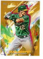 Sean Murphy 2020 Topps Inception 5x7 Gold #9 /10 Athletics