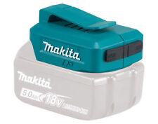 Makita DEBADP05 Twin Port USB Battery Charger Adaptor for 14.4v & 18v Batteries