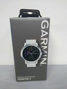 Garmin Vívoactive 3 GPS Smart Watch - White (010-01769-21)