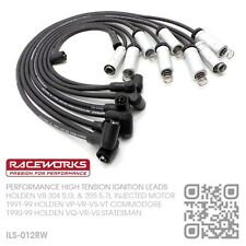 RACEWORKS 8.5MM IGNITION LEADS V8 INJECTED 5.0L 304 MOTOR [HOLDEN VT COMMODORE]