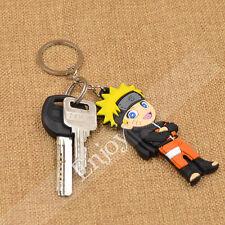 1 Pc Japanese Anime NARUTO Keychain Keyring Pendant Unisex Cosplay Xmas Gift