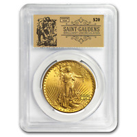 $20 Saint-Gaudens Double Eagle BU PCGS (Random, Prospector Label) - SKU#150377