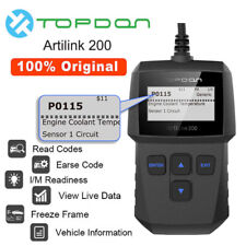 Topdon OBD2 CAN OBDII Auto Car Engine Fault Code Reader Diagnostic Scanner Tool