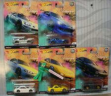 STREET TUNERS Set of 5 ❊2019 Hot Wheels Car Culture L ❊PANDEM/MAZDA/HONDA/NISSAN