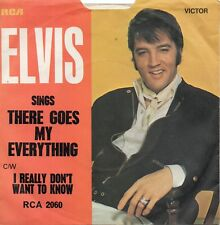 ELVIS PRESLEY  THERE GOES MY EVERYTHING / I REALLY DON'T WANT TO KNOW UK RCA PS
