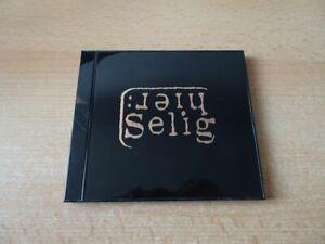 CD Selig - Hier - 1995 - 14 Songs - Black Jewel Case