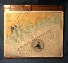 Navigation BBA Chart Kit with Charts, Plotting Board, and Tools
