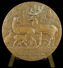 Médaille Réserves biologique forêt de Bière Fontainebleau sc Joachim 1974 medal