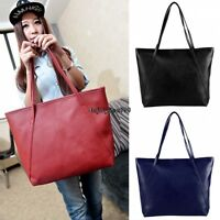 Lady Womens PU Leather Messenger Handbag Shoulder Bag Totes Purse Satchel Bags