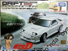 Takara Tomy Drift Package Nano Initial D Car RX7 FC3S Japan RC Remote Car NEW