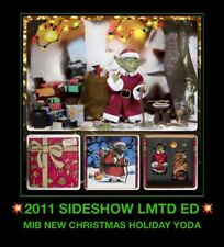 "NEW Sideshow Star Wars Santa Holiday Christmas baby Yoda 12"" 1/6 Ralph McQuarrie"