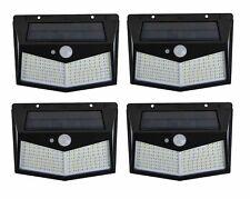 4pcs Lampada Luce Faretto Faro esterno Energia Solare 212 LED Sensore movimento