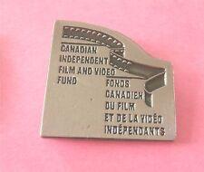 Canadian Independent Film & Video Fund - Fonds Canadien du Film Lapel Pin