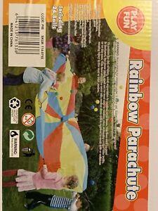 Rainbow Parachute With 24 Balls