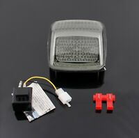 Smoke LED Taillight integrated Turn Signals Fit For Softail Deuce All Year T05