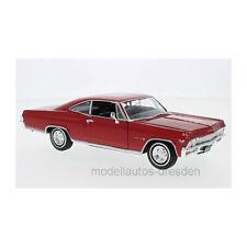Welly 22417 Chevrolet Impala SS 396 rot Maßstab 1:24 Modellauto NEU!°