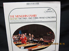 Yehudi Menuhin : Menuhin Family Mozart Two and Three Piano Concertos - Seraphim