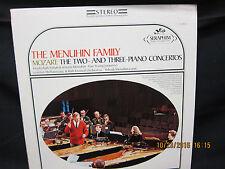 Yehudi Menuhin : Menuhin Family Mozart Two and Three Piano Concertos - Seraphim