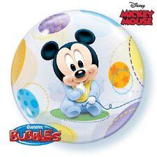 Baby Mickey Mouse Burbuja Globo Fuentes De Decoración Fiesta De Cumpleaños