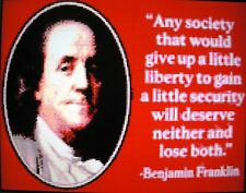BENJAMIN FRANKLIN (SAYING) ~ NEW Counted Cross Stitch KIT ~ #ML148