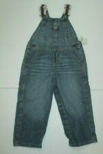 NEW NWT BOYS OSHKOSH BGOSH VESTBACK BLUE DENIM SUSPENDER...