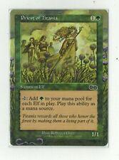 Priest of Titania Elf Altered Art Full MTG Magic Commander EDH Birthday Gift