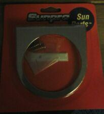 Sunpro Cp7538 Single 2 58 Gauge Mounting Panel Chrome