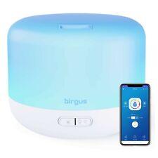 Difusor De Aromaterapia Con Aceite Esencial Habilitado Para Wifi Inteligente.