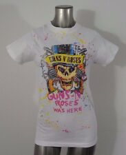 Guns N' Roses women's t-shirt white L new
