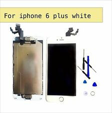 White For iPhone 6 Plus LCD Replacement Screen Digitizer homebutton+camera