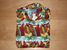 NWT Joe Kealoha Men's size Large Surfboard Aloha Shirt