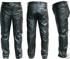 Pantalone in Pelle JF-Pelle mod. 3141 Nero