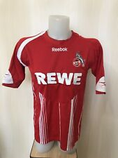 FC Koln 2009/2010 Home Sz L Reebok shirt jersey football soccer maillot trikot