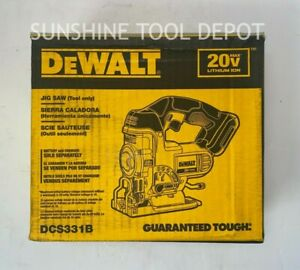 DeWalt DCS331B 20V MAX Jig Saw (Tool Only)
