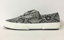 SUPERGA - 2750 COTSNAKEW SNAKE PRINT LACE-UP SNEAKER SZ 10, RETAIL $85