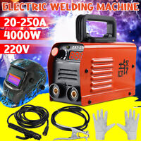 ARC Welder Inverter MINI 220V 4000W 250A MMA DC Portable Stick Welding Machine
