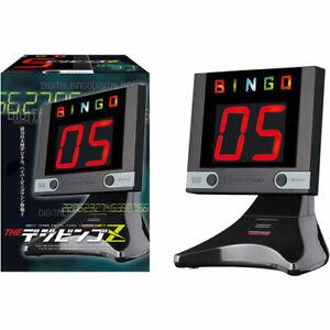 Bingo Machine Digital Electronic THE Dejibingo Z Black Hanayama Japan
