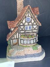 David Winter Cottages ~ Thameside ~ Mint, Box, Coa, Bottle Of Thames Water