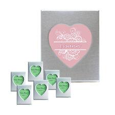 Bilderrahmen Herz Magnet 12 Sück Herzbilderrahmen Tischkarte Gastgeschenk