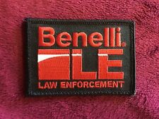 Benelli LE Law Enforcement Patch With Hook And Loop Backing M4 M1 M2 SBE Vinci
