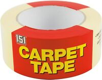 CARPET TAPE DOUBLE SIDED MULTI-PURPOSE STRONG ADHESIVE TAPE HEAVY DUTY 48 x 25m