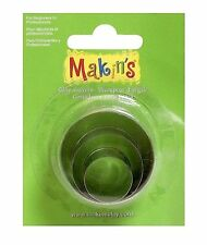Makin's - Clay - Cutter - Mold Set - 3 Sizes - ROUND - M360-1 - Circle