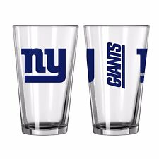 New York Giants Boelter NFL Game Day 16oz Pint Glass FREE SHIP!!