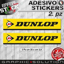 Adesivo Sticker 2.PZ DUNLOP TIRES SPORTMAXX RACE QUALIFIER GP RACER SBK MOTO GP